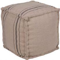 Surya Natural Fiber Bande pouf/ottoman Collection