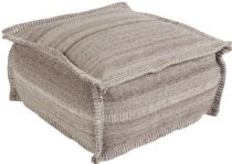 Surya Natural Fiber Barnsley pouf/ottoman Collection