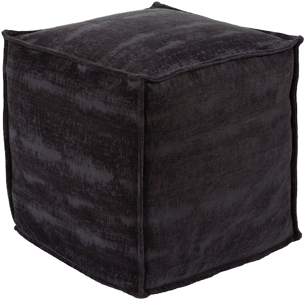 surya copacetic contemporary pouf/ottoman collection
