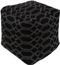 Surya Contemporary Crissy pouf/ottoman Collection