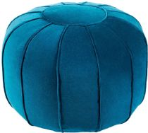 Surya Contemporary Cotton Velvet pouf/ottoman Collection