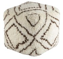 Surya Contemporary Denali pouf/ottoman Collection