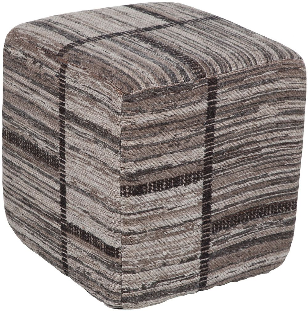 surya jacqueline traditional pouf/ottoman collection