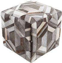 Surya Contemporary Lycaon pouf/ottoman Collection