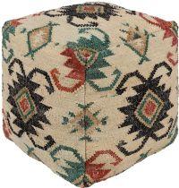 Surya Southwestern/Lodge Lenora pouf/ottoman Collection