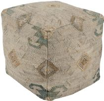 Surya Southwestern/Lodge Lenora pouf/ottoman Collection