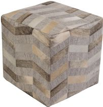 Surya Contemporary Medora pouf/ottoman Collection