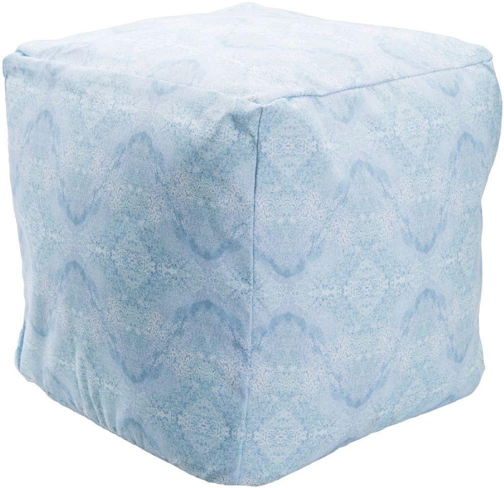 surya surya poufs transitional pouf/ottoman collection