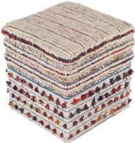 Surya Braided Scotia pouf/ottoman Collection