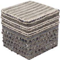 Surya Braided Scotia pouf/ottoman Collection