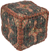 Surya Southwestern/Lodge Shadi pouf/ottoman Collection