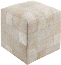 Surya Contemporary Sophisticate pouf/ottoman Collection