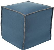 Surya Solid/Striped Simplicity pouf/ottoman Collection