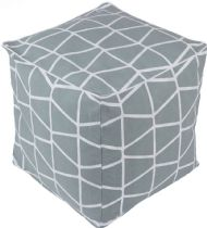 Surya Contemporary Somerset pouf/ottoman Collection