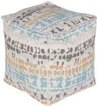 Surya Contemporary Technicolor pouf/ottoman Collection