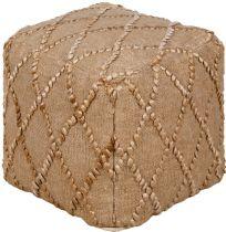 Surya Contemporary Teangi pouf/ottoman Collection
