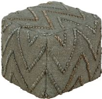 Surya Contemporary Teangi pouf/ottoman Collection