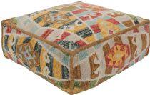 Surya Southwestern/Lodge Zagros pouf/ottoman Collection