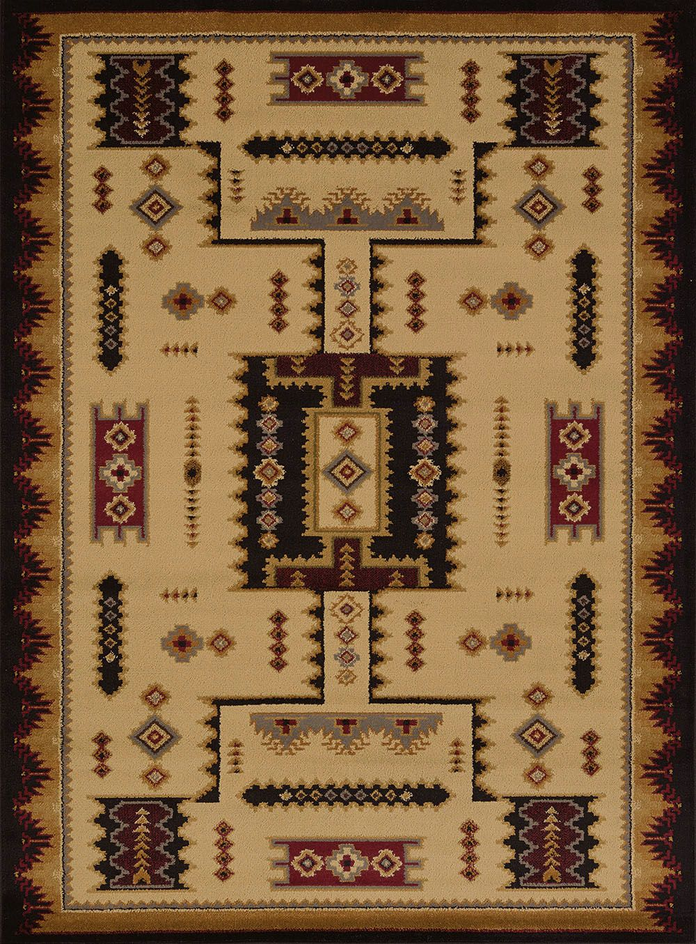 united weavers affinity coltan southwestern/lodge area rug collection