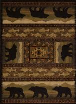 United Weavers Contemporary Affinity  Bears Area Rug Collection