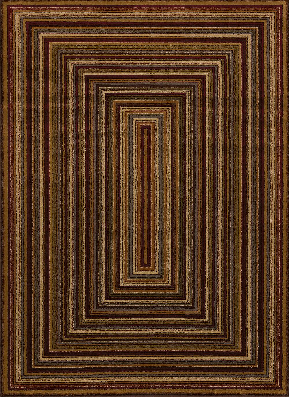 united weavers affinity chapelle southwestern/lodge area rug collection