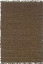 Linon Solid/Striped Verginia Berber Area Rug Collection