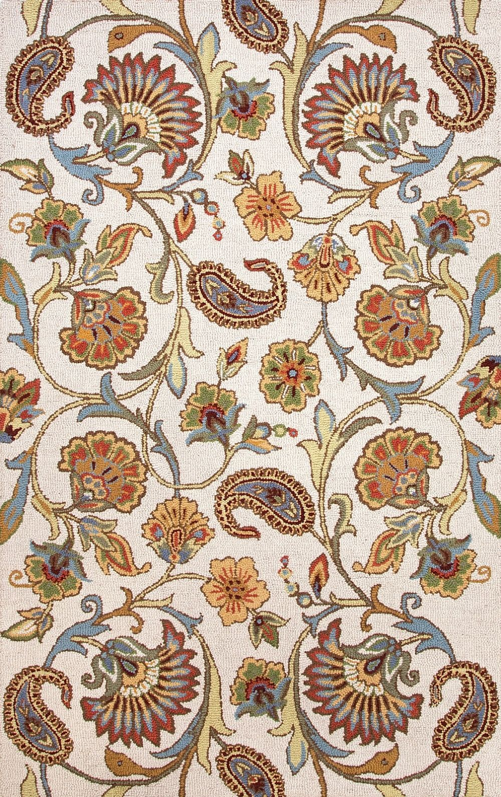 jaipur hacienda country & floral area rug collection