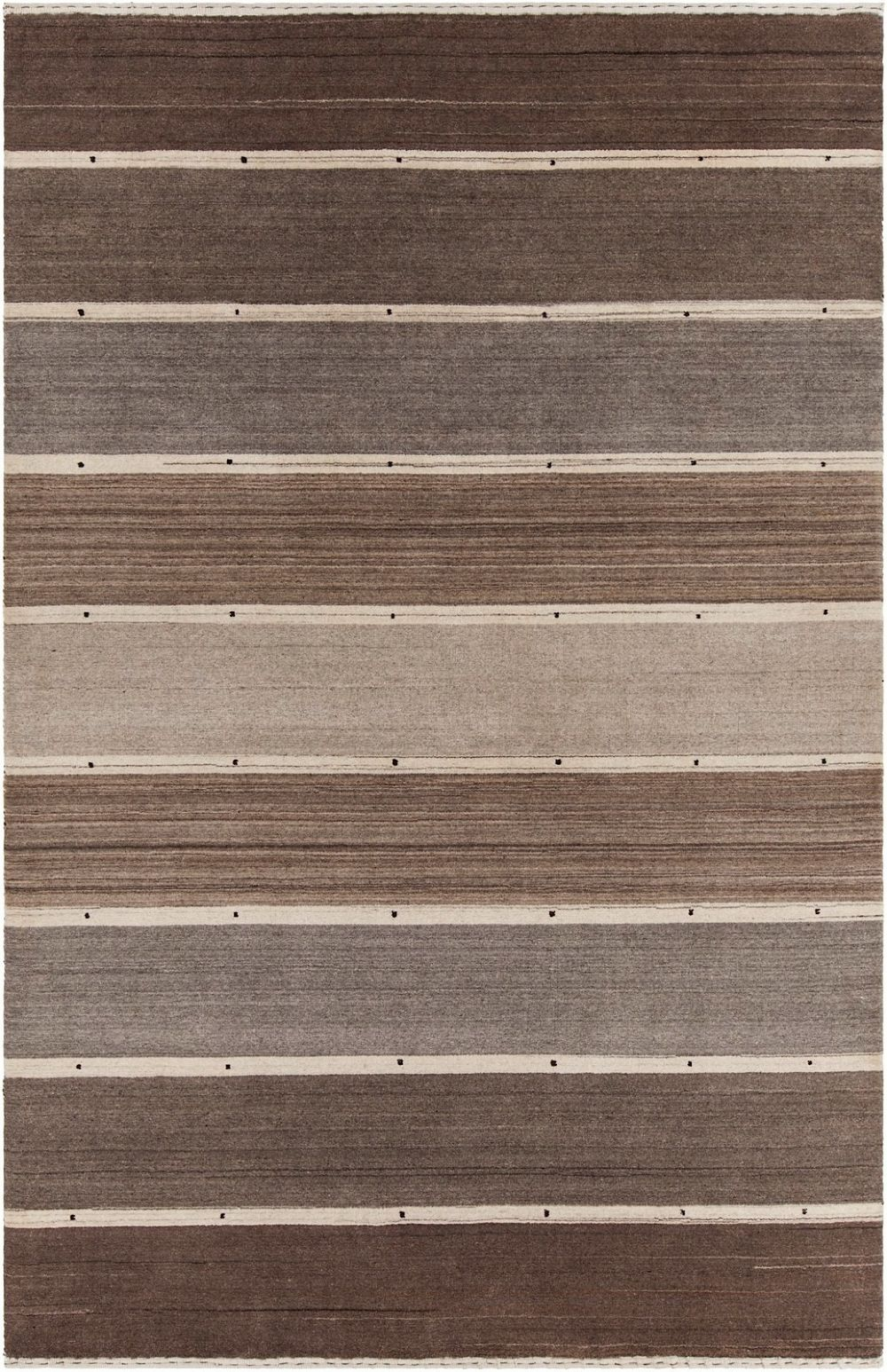 chandra elantra solid/striped area rug collection