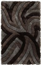 Chandra Contemporary Filix Area Rug Collection