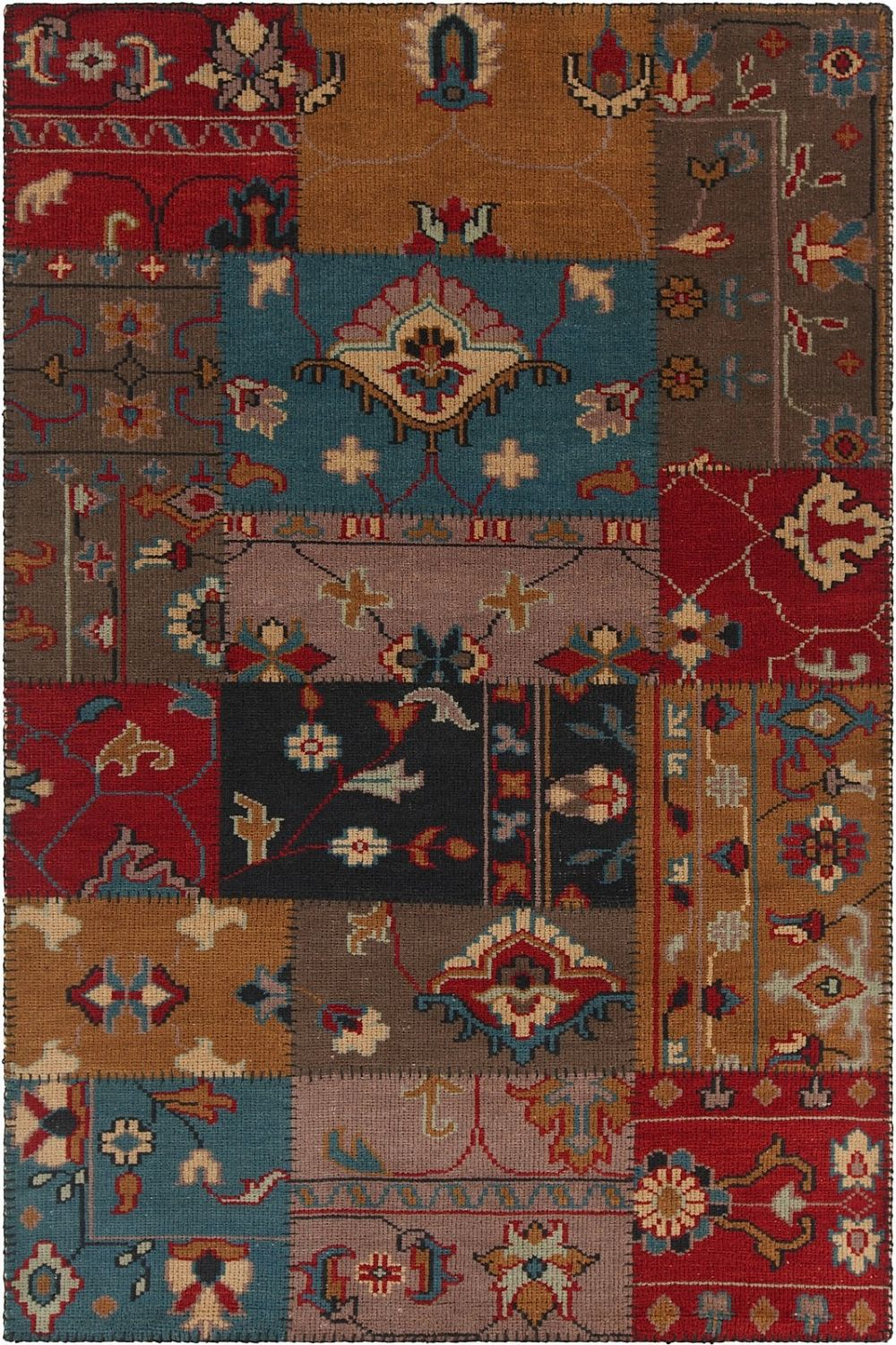 chandra fusion contemporary area rug collection