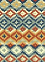 Well Woven Southwestern/Lodge Sydney Azteca Works Area Rug Collection