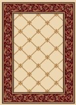 Well Woven Contemporary Timeless Fleur De Lis Area Rug Collection
