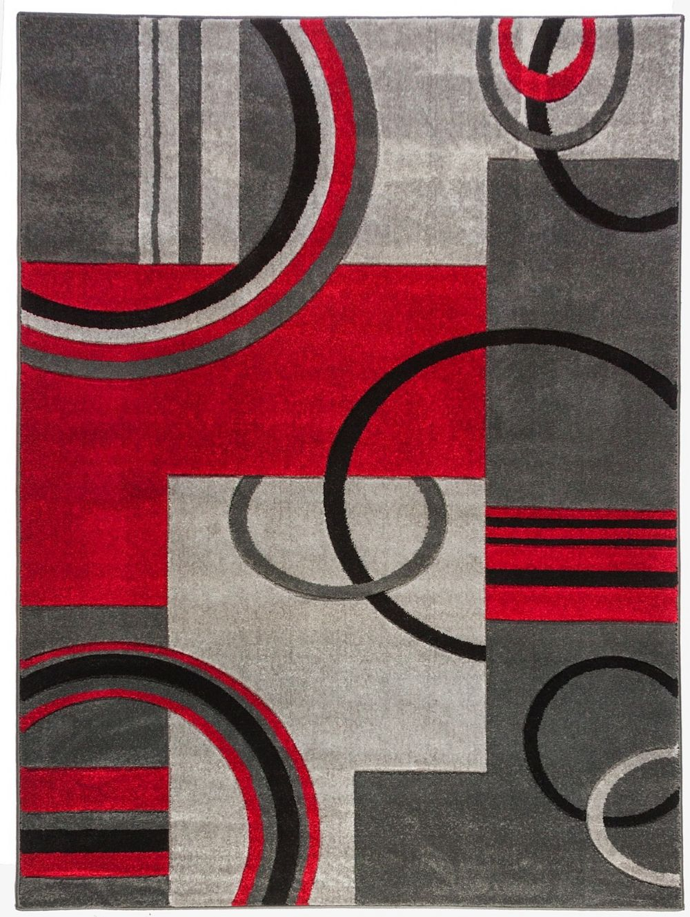 well woven ruby galaxy waves contemporary area rug collection
