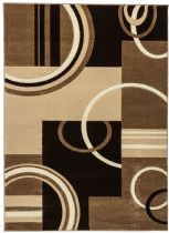Well Woven Contemporary Ruby Galaxy Waves Area Rug Collection