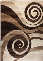 Well Woven Contemporary Ruby Whirlwind Area Rug Collection