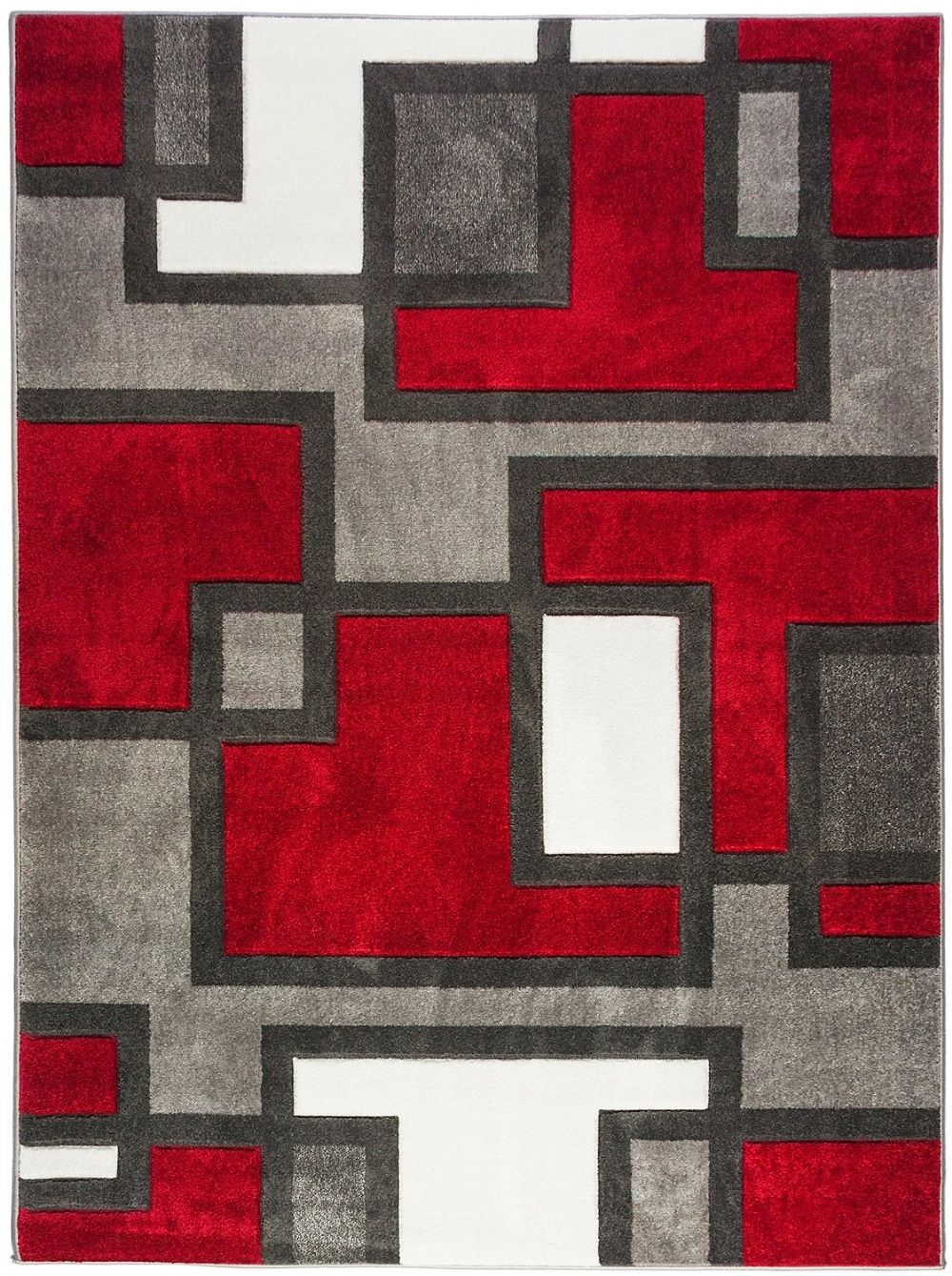 well woven ruby imagination squares contemporary area rug collection
