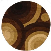 Well Woven Contemporary Avenue Positive Circles Area Rug Collection