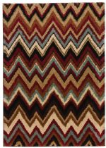 Well Woven Contemporary Avenue Chloe Chevron Area Rug Collection