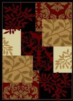 Well Woven Country & Floral Miami Fall Espresso Area Rug Collection