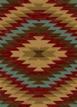 Rectangle rug, Power Loomed rug, Southwestern/Lodge, Miami Alamo Southwestern, Infinity Home Source rug