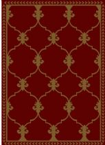 Well Woven Transitional Miami Esplanade Fleur De Lis Area Rug Collection