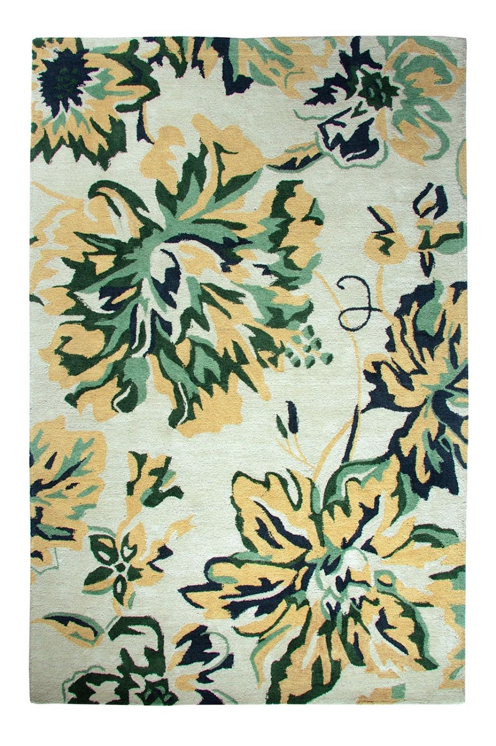 dynamic rugs casual country & floral area rug collection