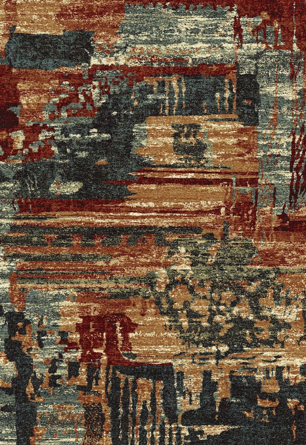 dynamic rugs infinity contemporary area rug collection