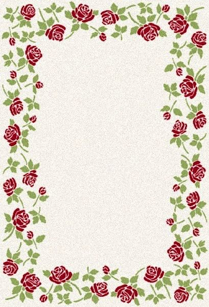 dynamic rugs infinity country & floral area rug collection