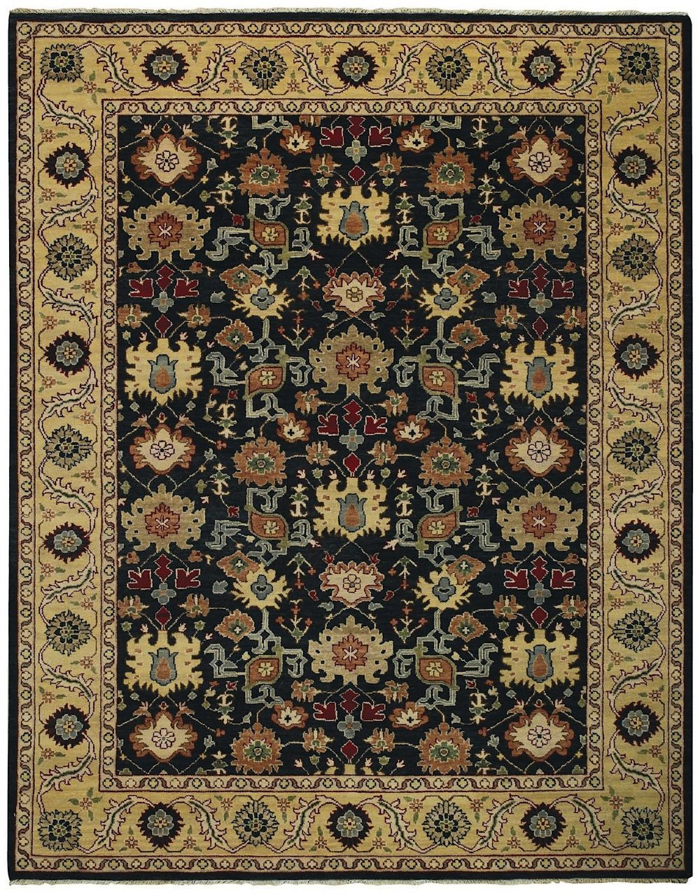 capel bellevelle-ushak traditional area rug collection