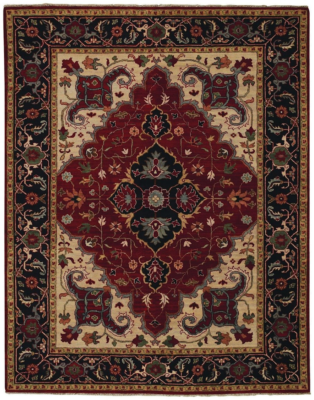 capel bellevelle-tabriz european area rug collection