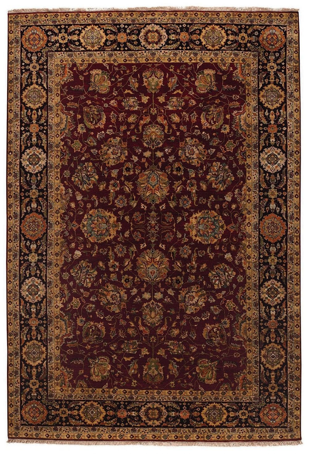 capel bella reserve-sultanabad traditional area rug collection