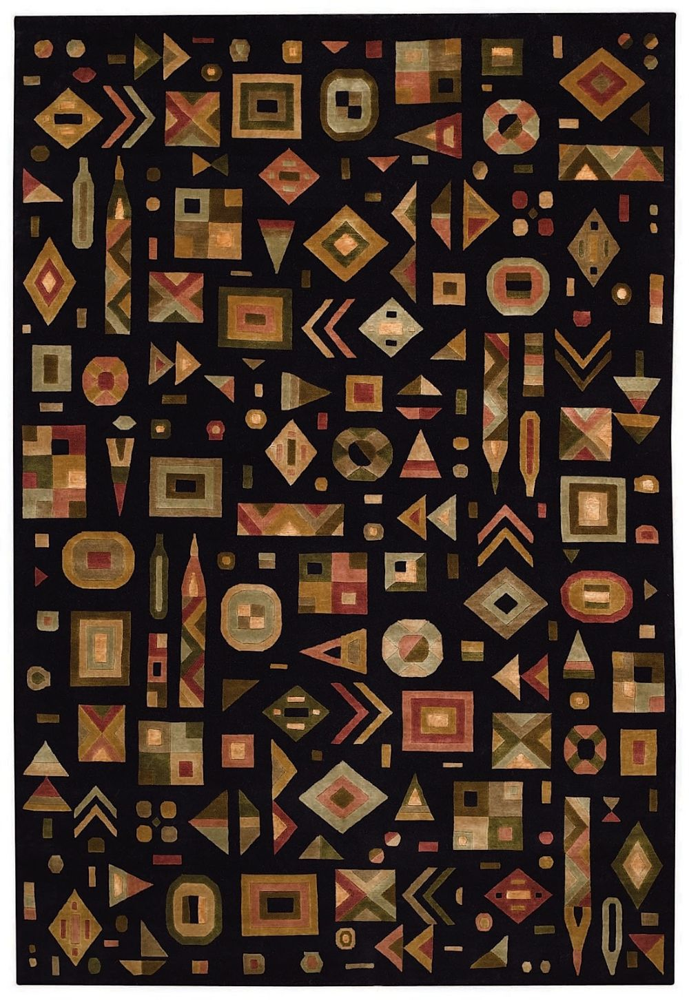 capel crystalle-abstract contemporary area rug collection