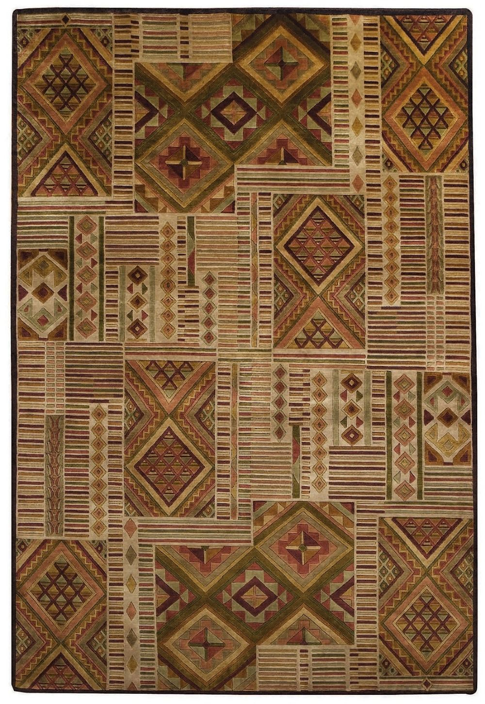capel crystalle-mosaic contemporary area rug collection