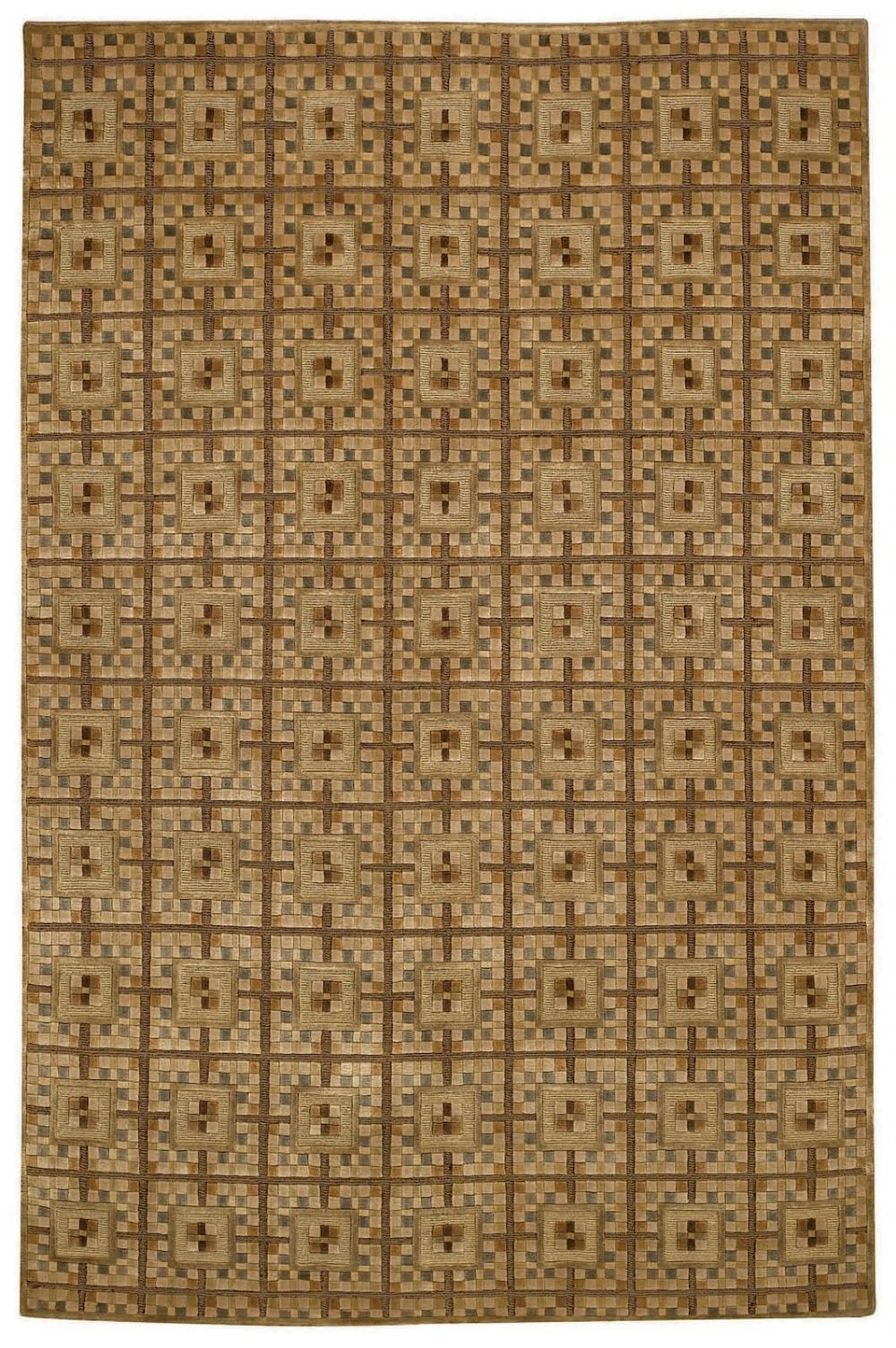 capel crystalle-terazzo contemporary area rug collection